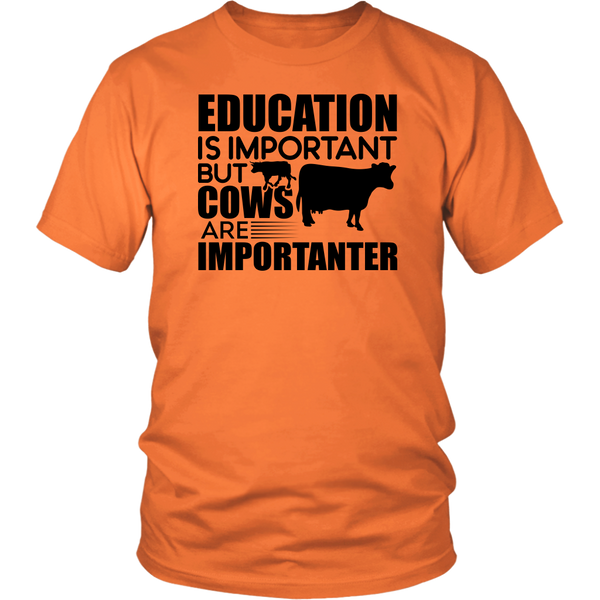 Education Is Important But Cows Are Importanter