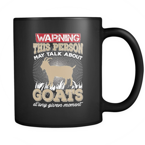 Warning Goats Mug