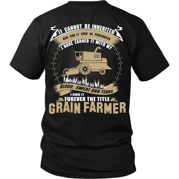 Forever The Title Grain Farmer