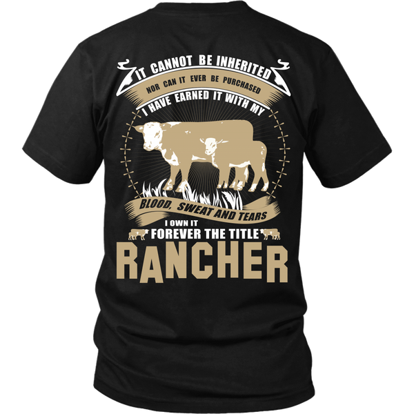 Forever The Title Rancher