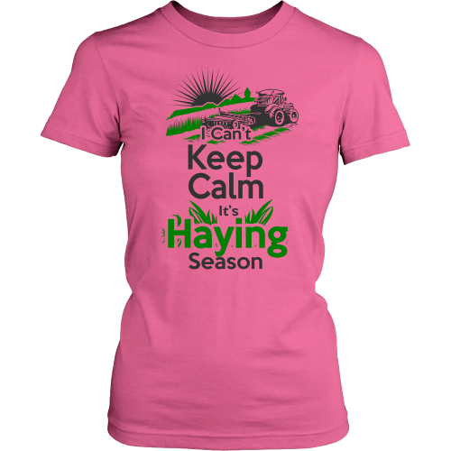 I Can't Keep calm It's Haying Season Light