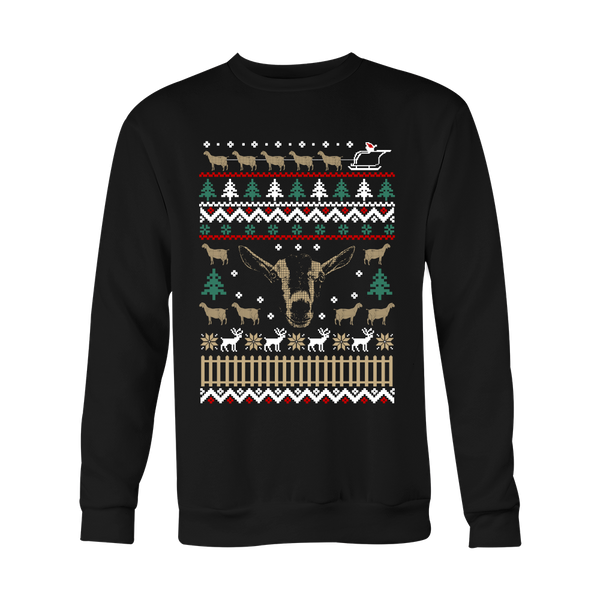 Ugly Christmas Sweater-Goats