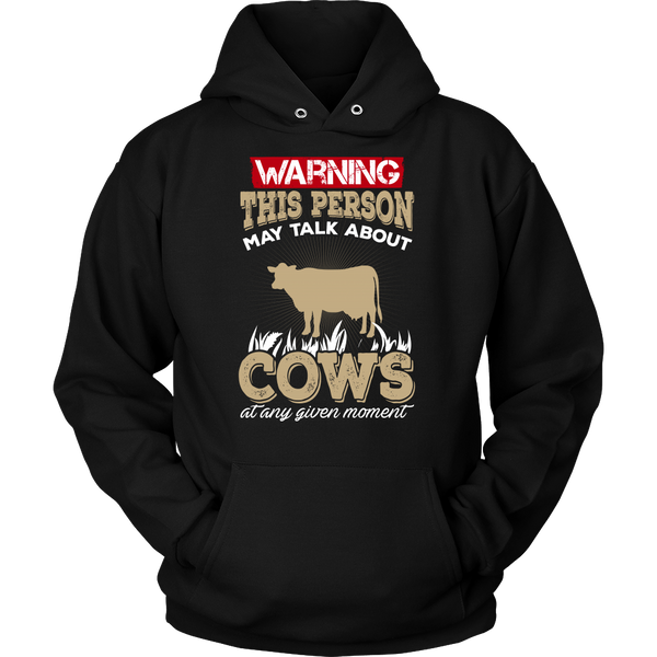 Warning Cows Shirt