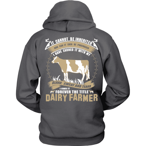 Forever The Title Dairy Farmer