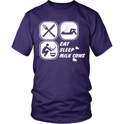 Eat Sleep Milk Cows