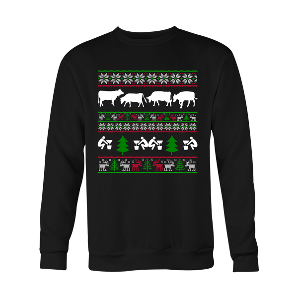Dairy Farmer's Christmas Sweater