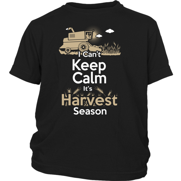 Kids-Can't Keep Calm It's Harvest Season