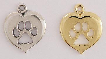 Cat Paw Print Heart