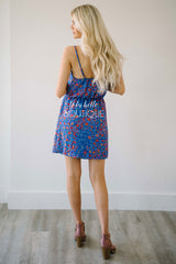 Splash of Color Floral Summer Dress