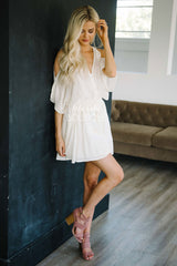 The Anabelle Cream Embroidery Romper
