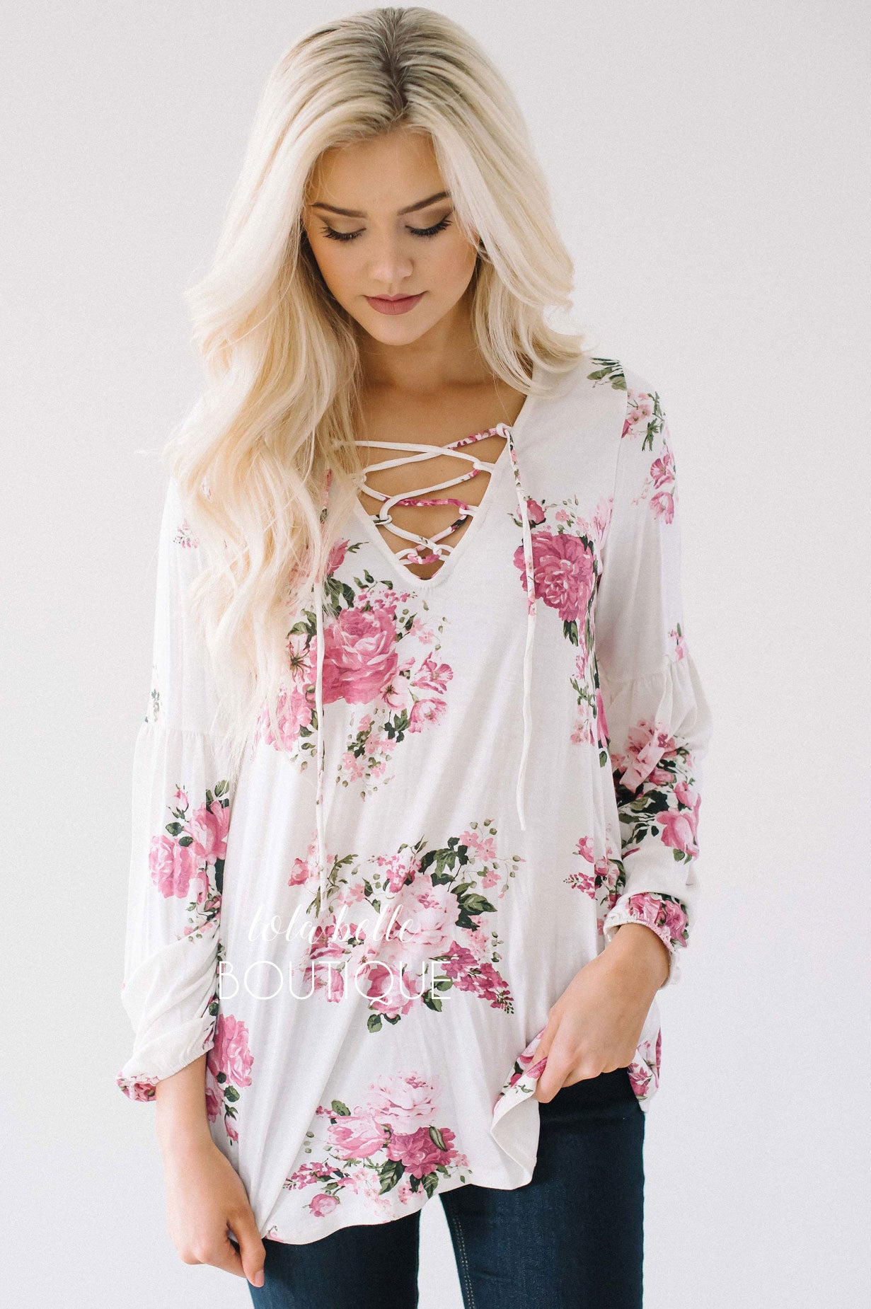 Flowers of Mine Beautiful Blouse