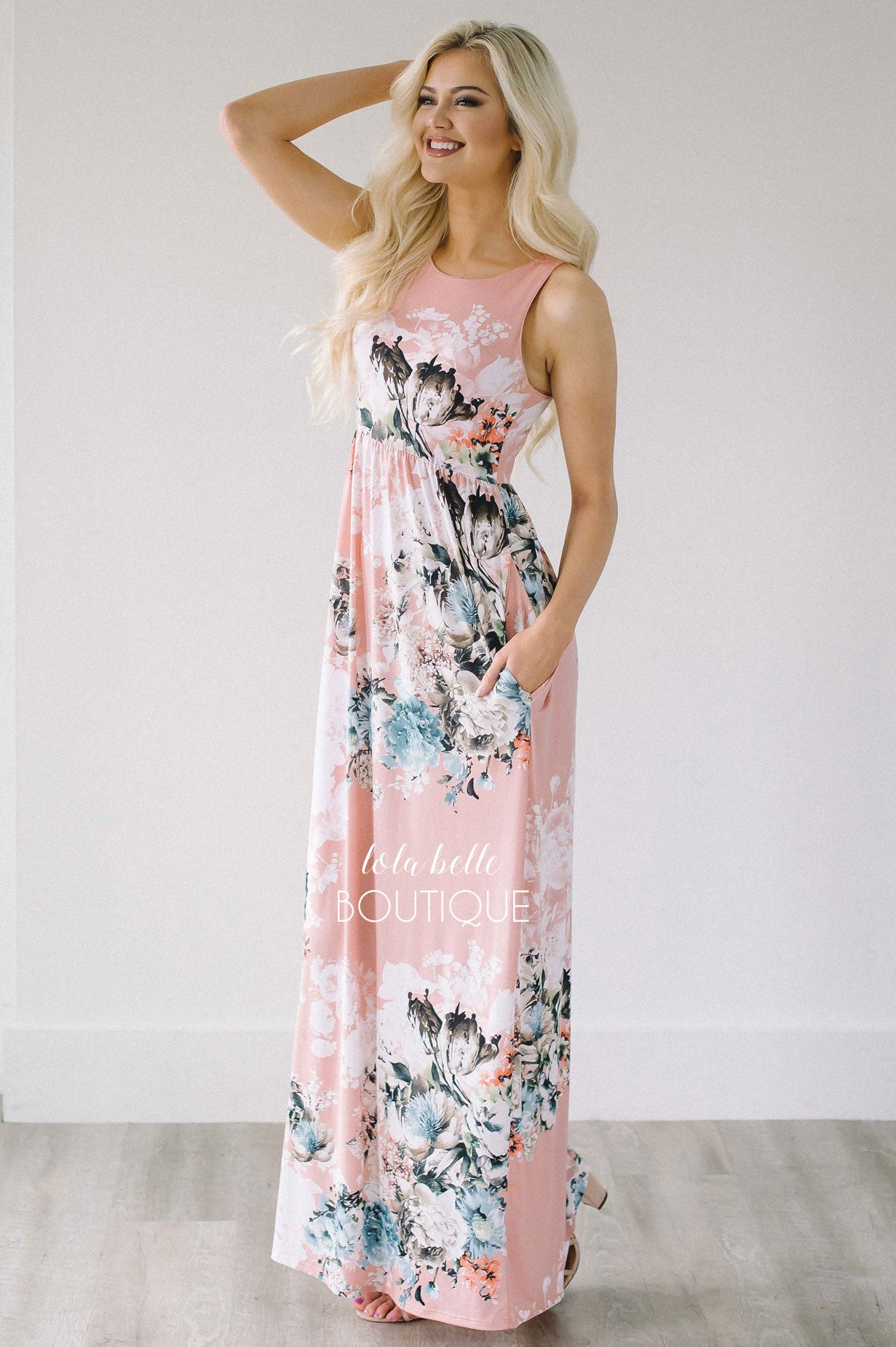 Pretty As A Petal Maxi Dress