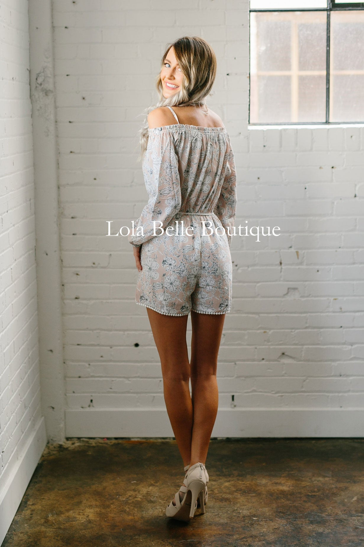 Blossoming Romance Romper