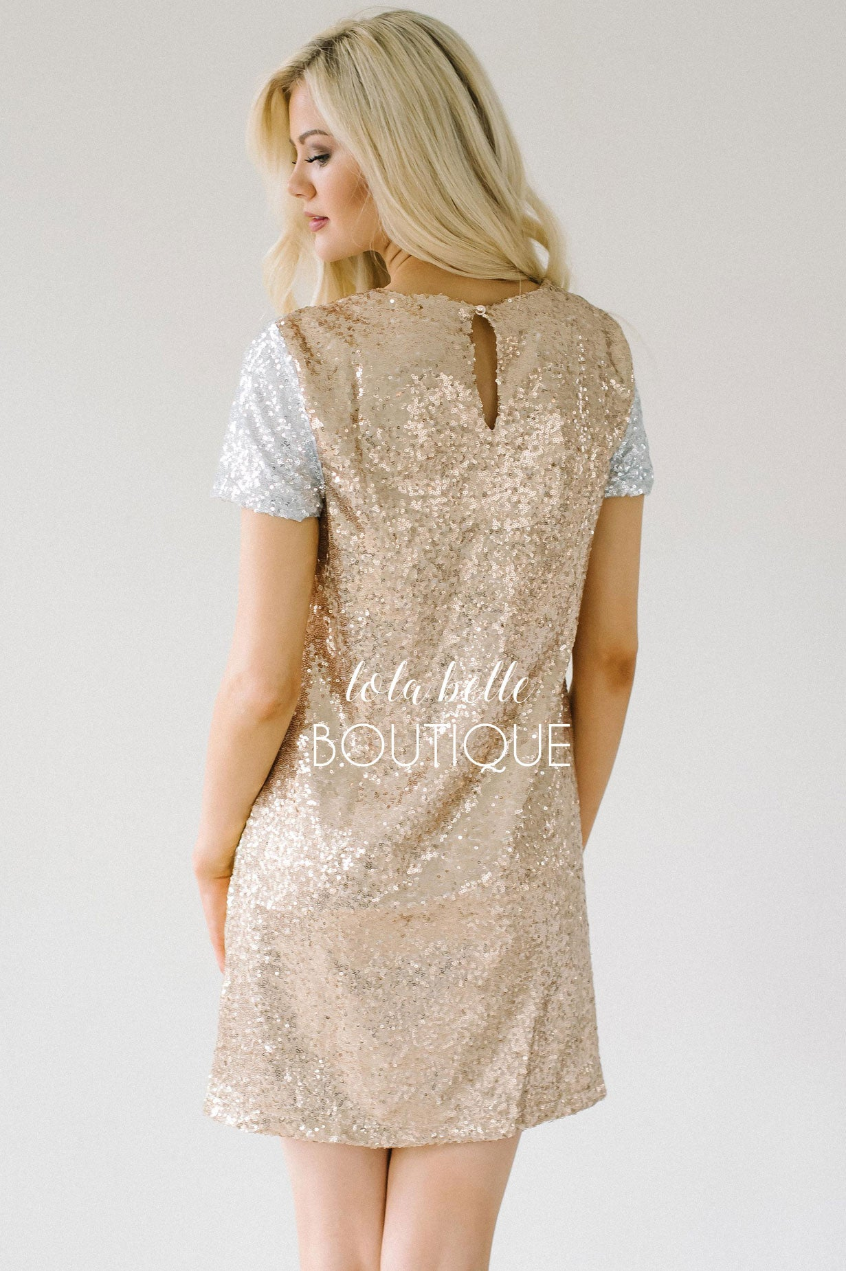 The Most Amazing Sequin Dress