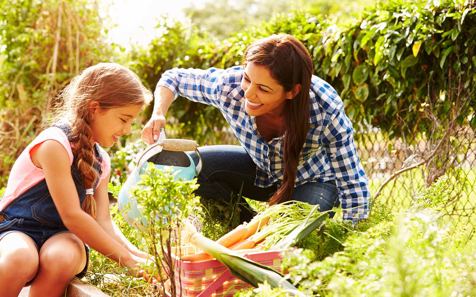Grow Food benefits - family