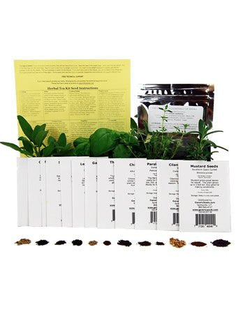 Assortment of 12 Culinary Herb Seeds - Grow Cooking Herbs- Parsley, Thyme, Cilantro, Basil, Dill, Oregano, Sage, More - EarthCitizen