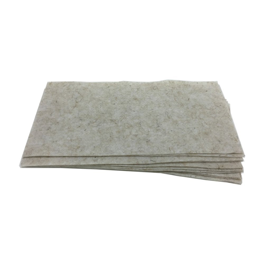"Biostrate Hydroponic Growing Mats - Pack of 10 - For 10"" x 20"" Germination Trays - EarthCitizen  - 1"