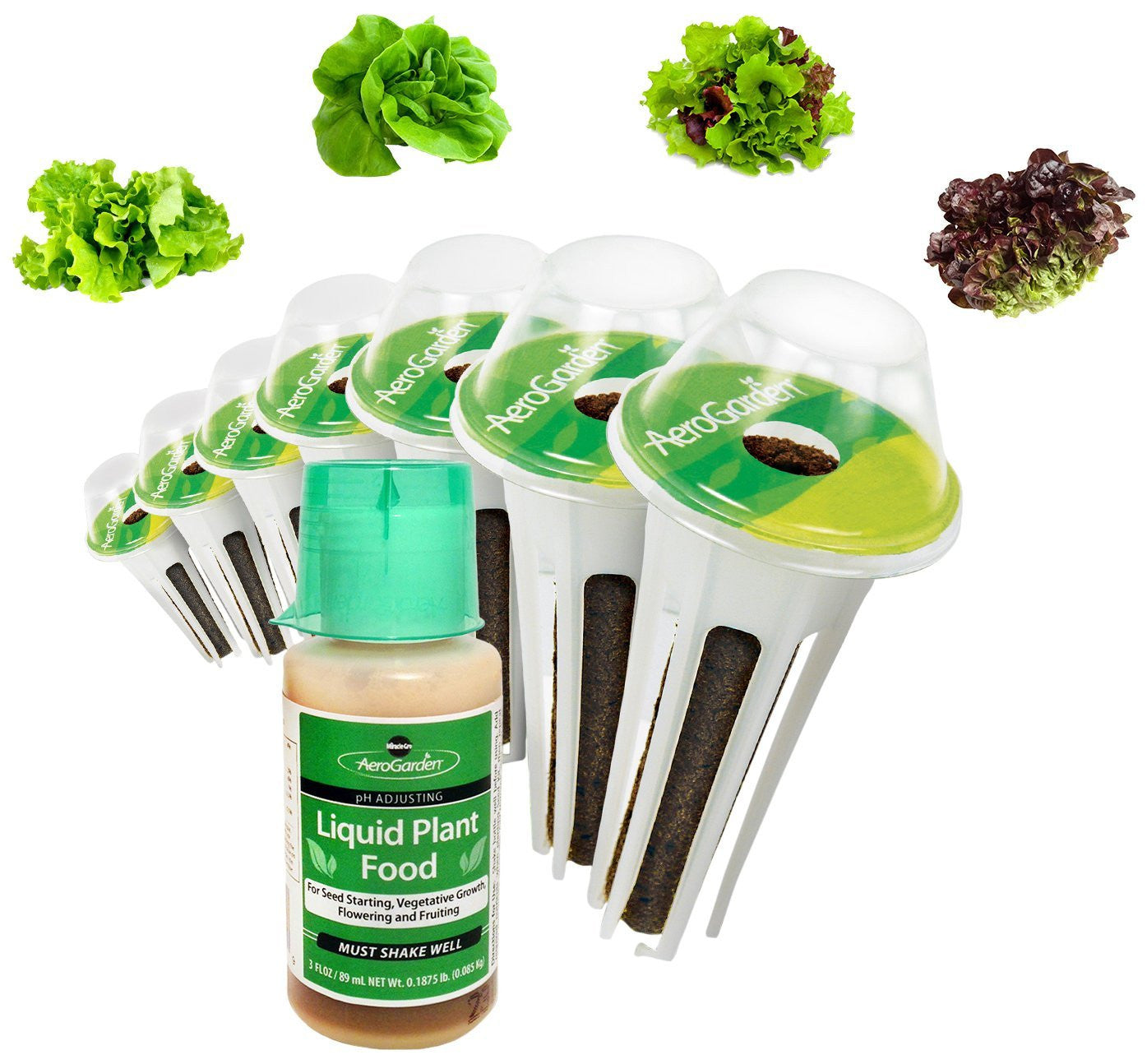 Miracle-Gro AeroGarden Salad Greens Mix Seed Pod Kit - EarthCitizen
