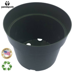50 Plant Pots - 4 Inch - EarthCitizen  - 1