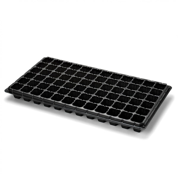Extra Strength 72 Cell Seedling Starter Trays, 60 Pack, Seed Germination, Plant Propagation, Hydroponics Plug Trays - EarthCitizen  - 1