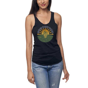 #GrowFood - All Natural - Bamboo / Cotton Raw Tank Top - Women's