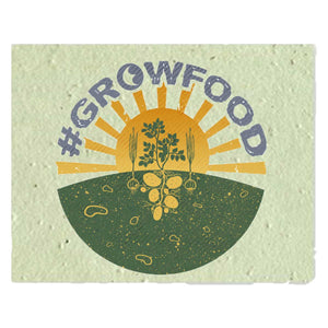 #GrowFood - Carrot Seed Greeting Cards - EarthCitizen