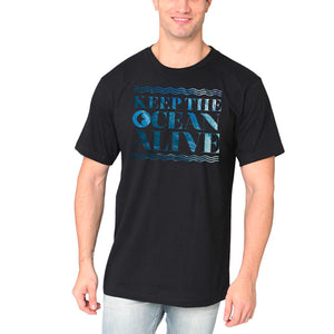 Keep the Ocean Alive - Organic COTTON T-Shirt - Unisex