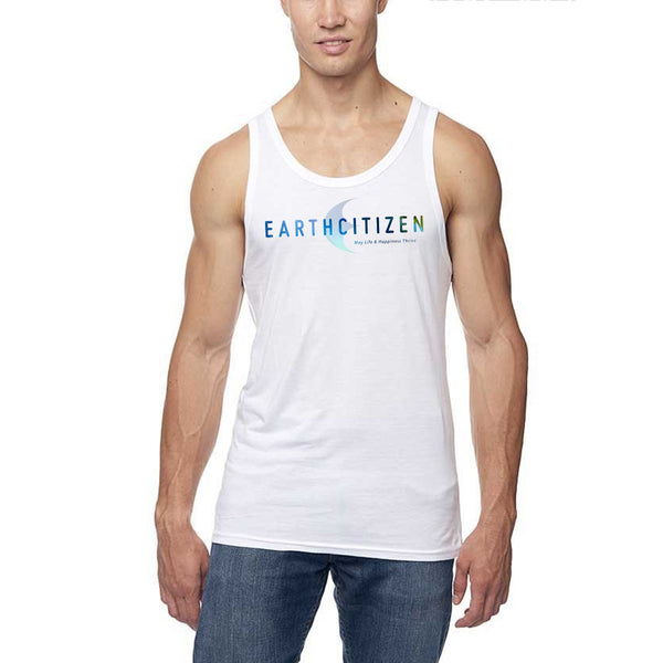 EC Logo V1- Bamboo / Cotton Tank Top - Unisex