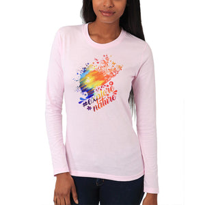 #ExploreNature - Organic Cotton - Long Sleeve - Women's