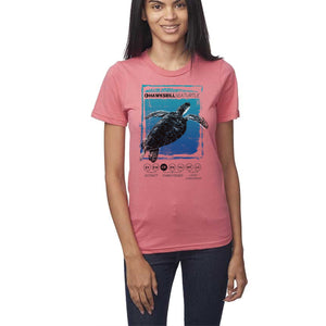 Hawksbill Thrive - Coral - Organic Cotton T-Shirt - Unisex