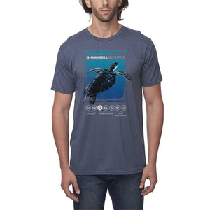 Hawksbill Thrive - Pacific - Organic Cotton T-Shirt - Unisex