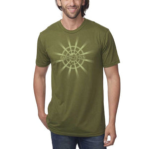 Synchronize - Virescent - Hemp / Cotton T-Shirt - Unisex