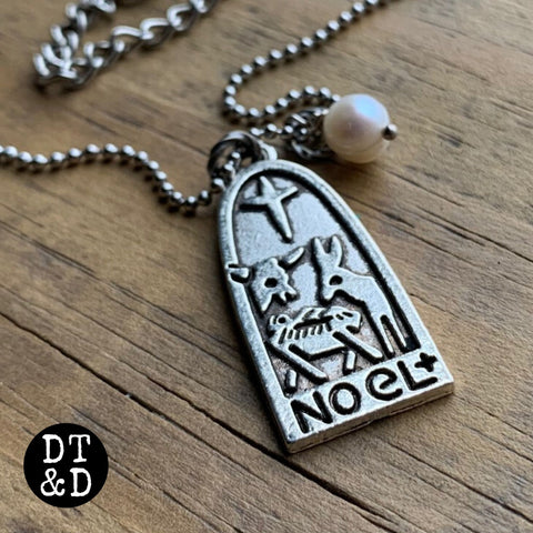 Christmas Nativity Necklace, NOEL ~ LIMITED EDITION