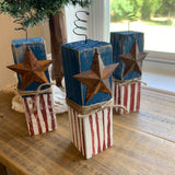 Hand Painted Wooden Firecrackers - Individual or Set