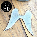 "Metal Angel Wings (1) - 3"" Inches"