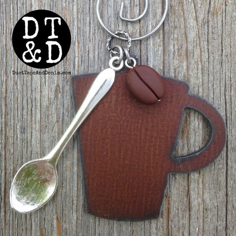 Coffee Ornament, Christmas Gift for Coffee Lovers