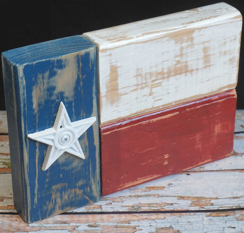 Texas Flag Sign, Medium