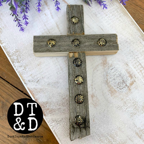 Barn Wood Crosses, Small