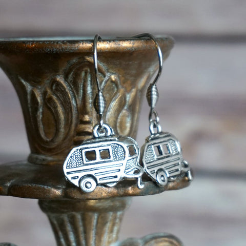 Simple Camper Earrings