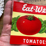 Vintage Tomato Can Label NOS, Lithograph (1)