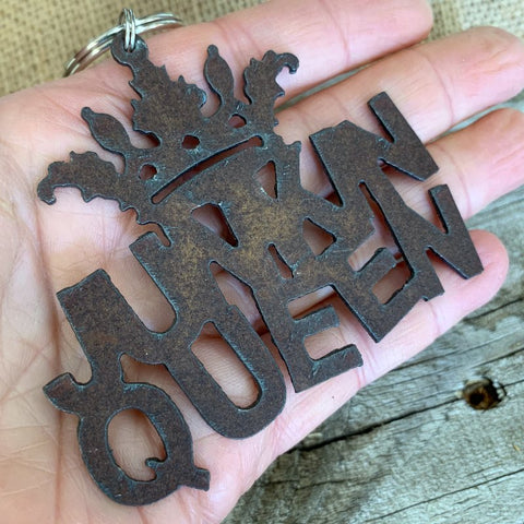 Junkin Queen Key Chain