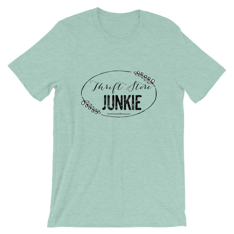 Thrift Store Junkie Short-Sleeve Unisex T-Shirt - Spring Colors