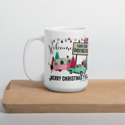Farm Fresh Christmas Trees Mug