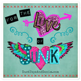 For the Love of Junk Sticker