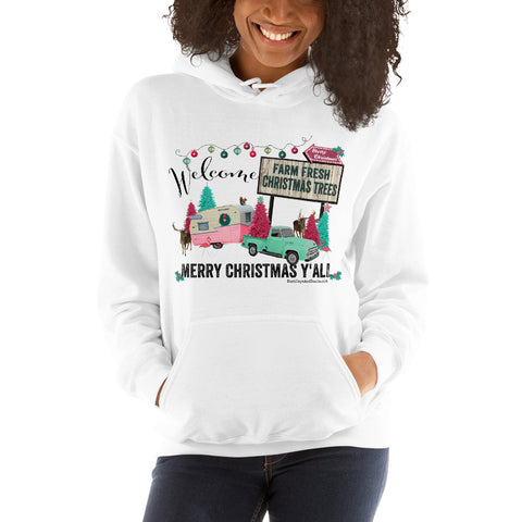 Farm Fresh Christmas Trees Hoodie