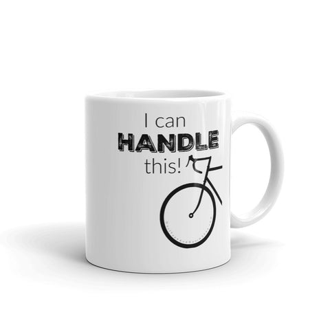 I Can Handle This Bicycle Coffee Mug