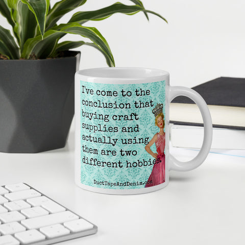 Collecting Craft Supplies Mug