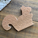 Unfinished Wooden Squirrel Shape for Crafting (1)