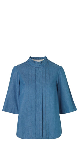 Fine Denim Blouse by NOA NOA