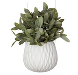 Hanging Planter - Diamond - White - FashionLife  - 1